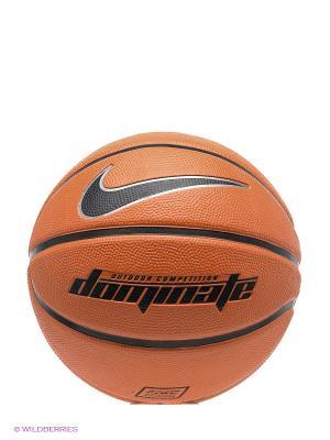 Мяч DOMINATE Nike. Цвет: оранжевый