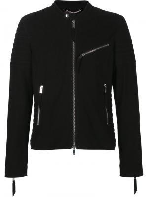 Замшевая куртка Ovadia & Sons. Цвет: чёрный