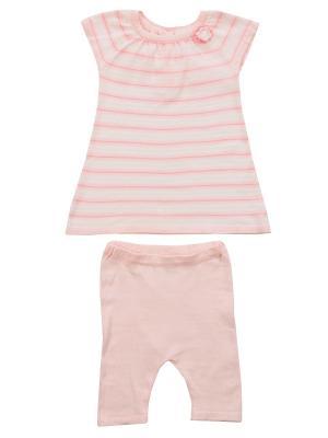 Комплект Angel Dear. Цвет: розовый, бежевый