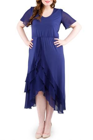 Платье Svesta. Цвет: темно-синий