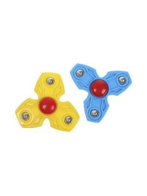 Комплект (Спиннер - 2 шт.) Happy Charms Family. Цвет: желтый, голубой, красный