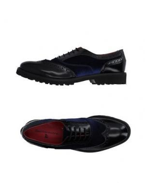 Обувь на шнурках SETTANTATRE LR. Цвет: черный