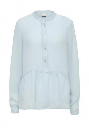 Блуза Ichi. Цвет: голубой
