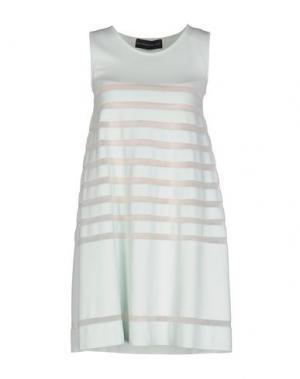 Короткое платье ANTONINO VALENTI. Цвет: светло-зеленый