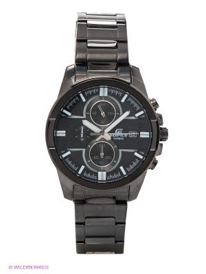 Часы EDIFICE EFR-543BK-1A8 CASIO. Цвет: антрацитовый