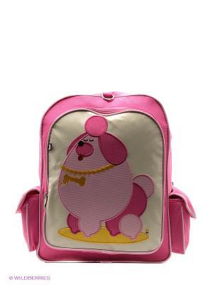 Рюкзак Beatrix NY. Цвет: розовый, желтый, белый