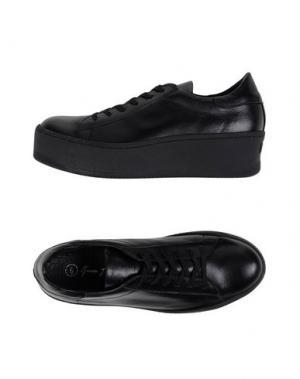 Низкие кеды и кроссовки GEORGE J. LOVE. Цвет: черный