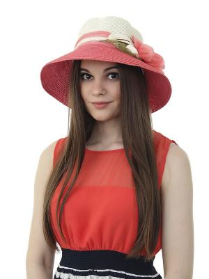 Шляпа Gusachi. Цвет: белый, зеленый, розовый