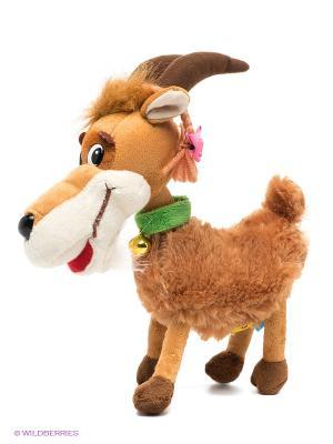 Мягкая игрушка Коза-дереза Мульти-пульти. Цвет: светло-коричневый, бежевый