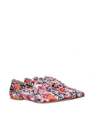Обувь на шнурках GEORGE J. LOVE. Цвет: красный
