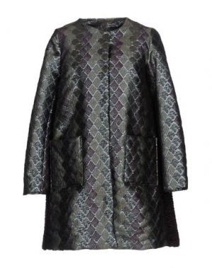 Пальто MALAICA. Цвет: темно-зеленый