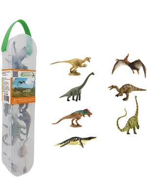 Набор мини динозавров (коллекция 2) Gulliver. Цвет: белый