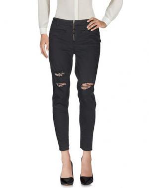 Повседневные брюки AMUSE SOCIETY. Цвет: стальной серый