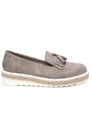 Туфли закрытые SpringWay. Цвет: серый