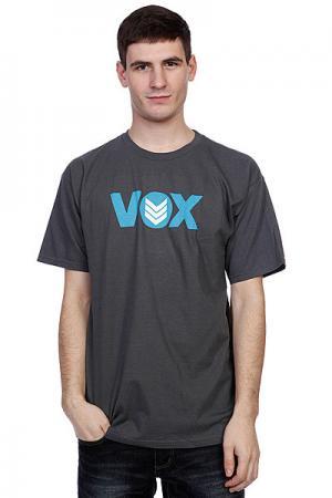 Футболка Vox Global Grey. Цвет: серый