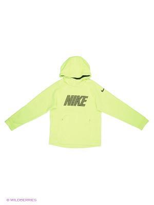Худи Nike. Цвет: желтый