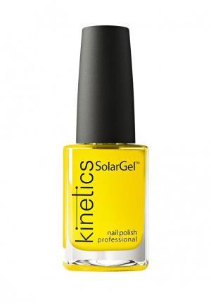Лак для ногтей Kinetics. Цвет: желтый
