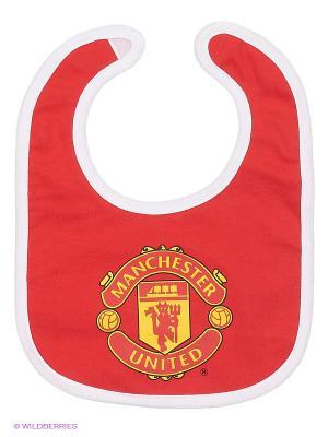 Нагрудник Manchester United FC Atributika & Club. Цвет: красный