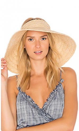 Дорожная шляпа с козырьком Hat Attack. Цвет: цвет загара
