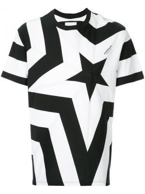 Star print T-shirt Yoshiokubo. Цвет: чёрный