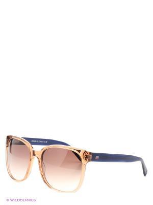 Солнцезащитные очки IS 11-273 07P Enni Marco. Цвет: коричневый, темно-синий