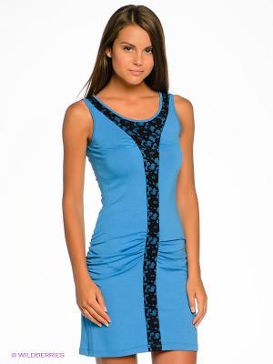 Платье Sport Vision. Цвет: голубой