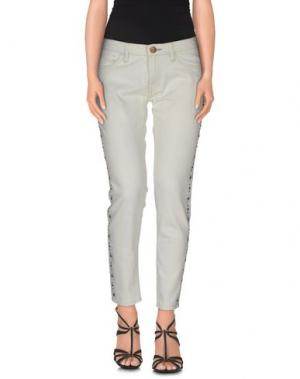 Джинсовые брюки SHINE. Цвет: синий