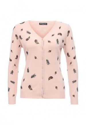 Кардиган Moda Corazon. Цвет: розовый