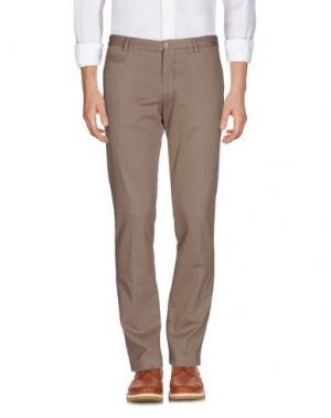 Повседневные брюки ALTEA dal 1973. Цвет: светло-коричневый