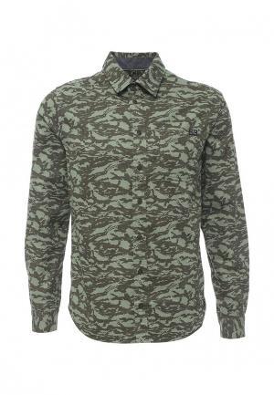 Рубашка Blend. Цвет: зеленый