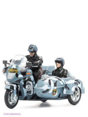 Мотоцикл омон Технопарк. Цвет: серый, черный