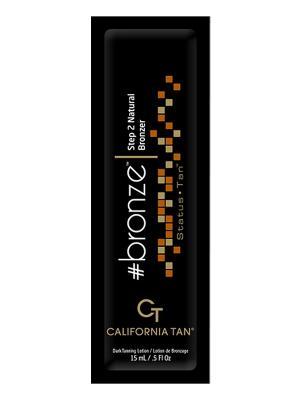 Крем для загара в солярии Status Tan. Bronze Step 2 (15 мл) California Tan. Цвет: бежевый