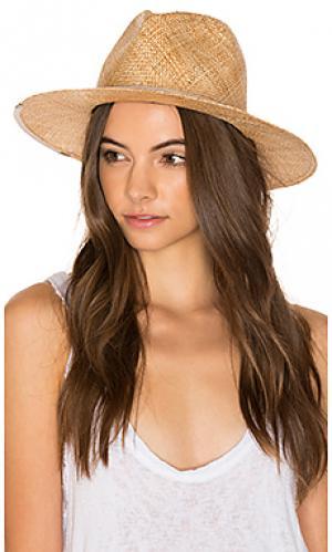 Шляпа waisley KIN/K. Цвет: цвет загара