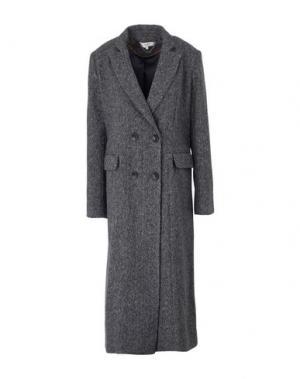 Пальто KORALLINE. Цвет: серый