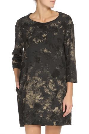 Платье Liviana Conti. Цвет: коричневый