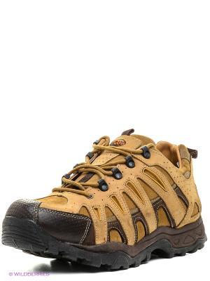 Спортивные ботинки WOODLAND. Цвет: светло-коричневый