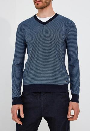 Пуловер Boss Hugo. Цвет: синий