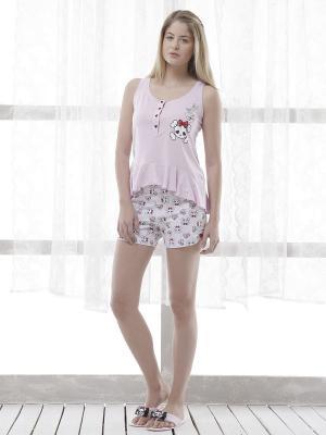 Пижама RELAX MODE. Цвет: розовый