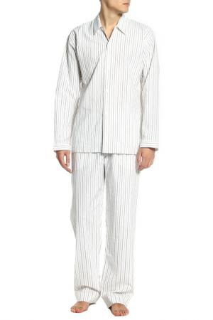 Пижама ZIMMERLI. Цвет: молочный