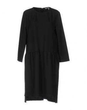 Короткое платье DEVOTION. Цвет: черный