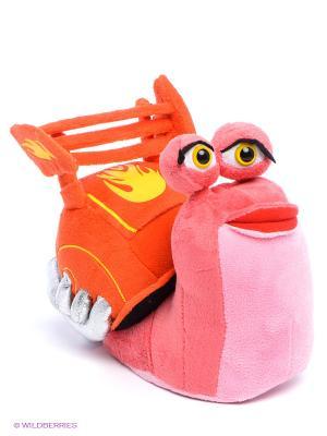 Мягкая игрушка Улитка Берн Мульти-пульти. Цвет: оранжевый, розовый