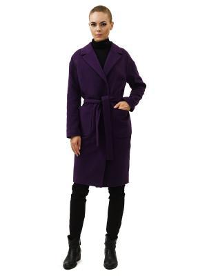 Пальто DOCTOR E. Цвет: темно-фиолетовый