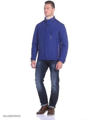 Зимняя куртка Malinardi. Цвет: синий