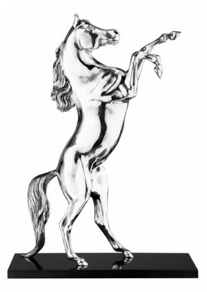 Скульптура Arab Prancing Horse Christofle. Цвет: бесцветный