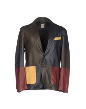 Пиджак D'AMICO. Цвет: свинцово-серый