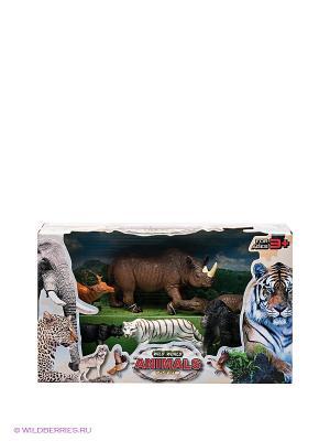 Игровой набор Дикие животные Happy Kin. Цвет: черный, коричневый