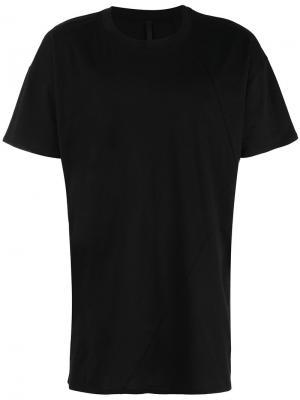 Классическая футболка Barbara I Gongini. Цвет: чёрный