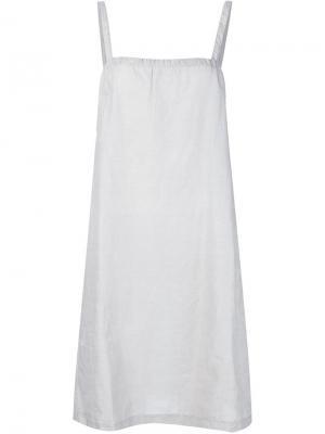 Платье-майка Dosa. Цвет: серый
