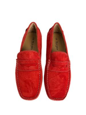 Мокасины U.S. Polo Assn.. Цвет: красный