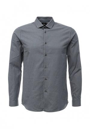 Рубашка Burton Menswear London. Цвет: серый